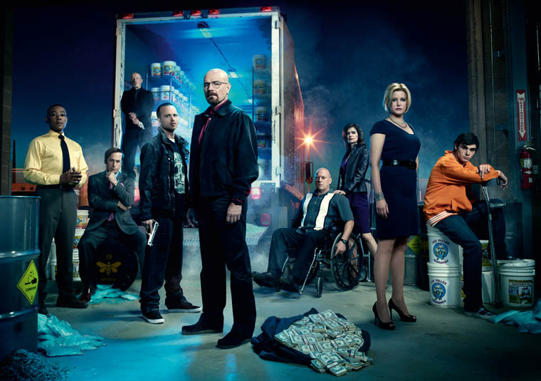 Breaking Bad Season 4 Studio Photos