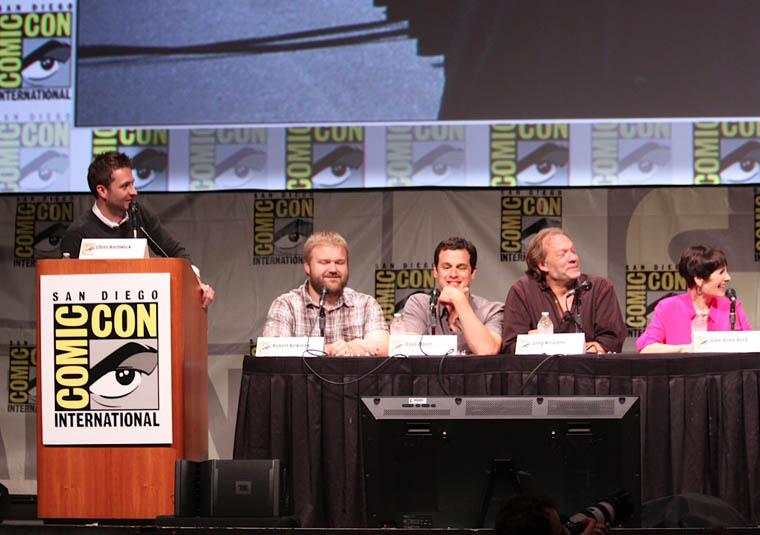 Robert Kirkman (Yazar), David Alpert (Yapımcı), Greg Nicotero (Özel Efekt Uzmanı) and Gale Anne Hurd (Yapımcı)