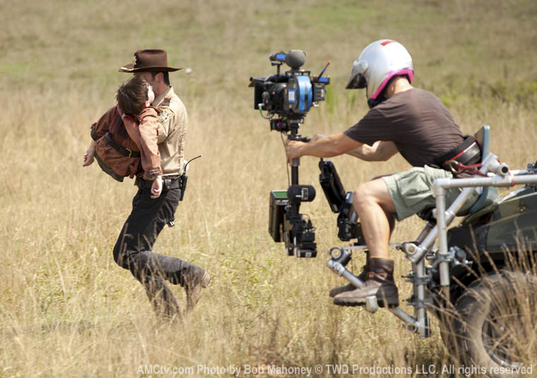 Koş Rick Koş! Carl elden gidiyor...