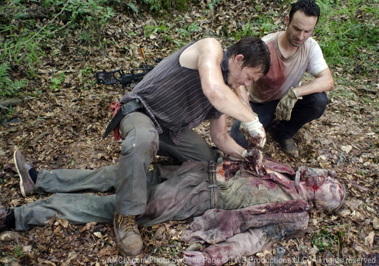 Daryl Dixon (Norman Reedus) ve Rick Grimes (Andrew Lincoln)