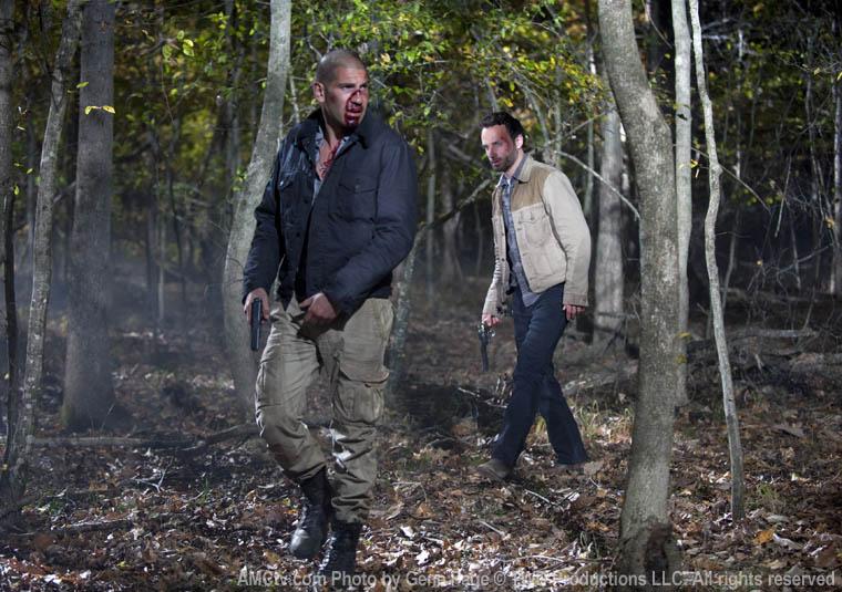 Shane ve Rick Ormanda