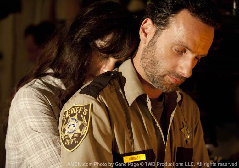 Lori Grimes (Sarah Wayne Callies) ve Rick Grimes (Andrew Lincoln)