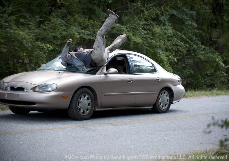 Lori Grimes (Sarah Wayne Callies) Trafik Kazası