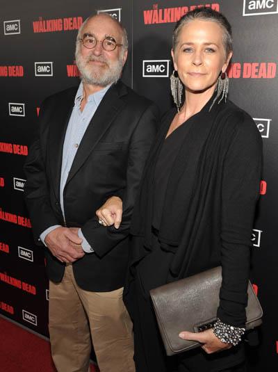 Jeffrey DeMunn (Dale) ve Melissa McBride (Carol Peletier)