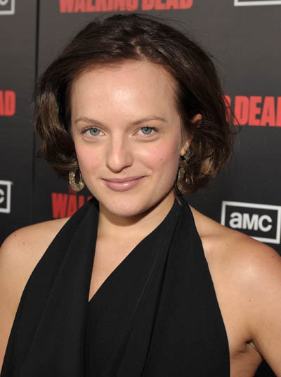 Elisabeth Moss (Peggy Olson on AMC's Mad Men)