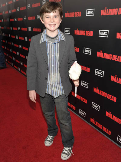 Chandler Riggs (Carl Grimes)