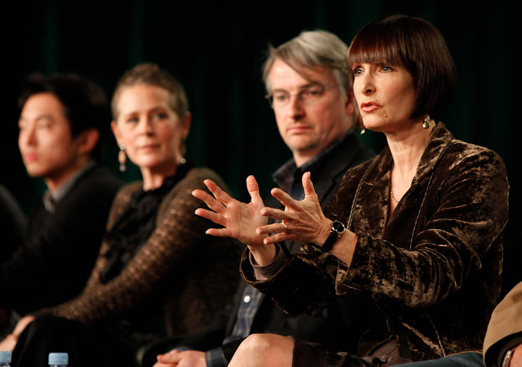 The Walking Dead 2012 Winter TCA Panel Photos