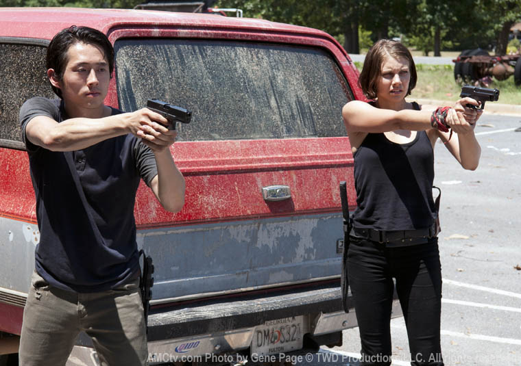 The Walking Dead s03e06 - Glenn ve Maggie