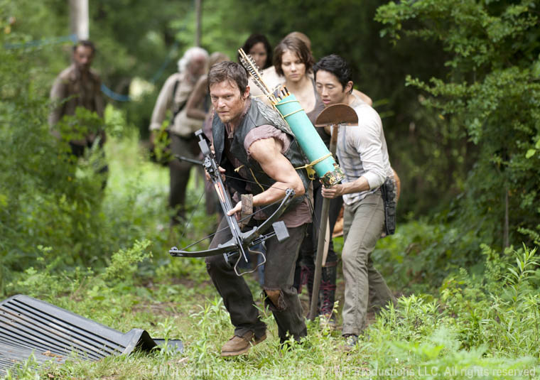 The Walking Dead Season 3 Production Photos