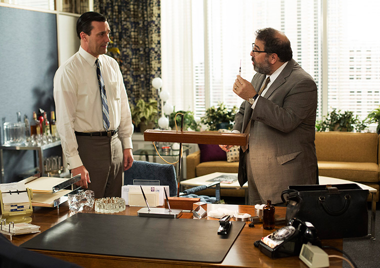 Don gets a shot from the doctor