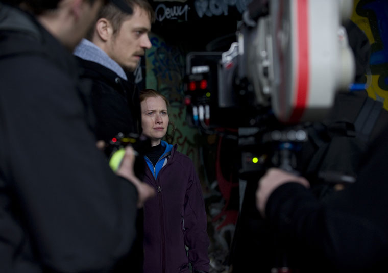 The Killing Season 1 Behind the Scenes Photos
